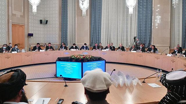 모스크바서 아프간 국제회의…10개국, 탈레반 대표단과 대화