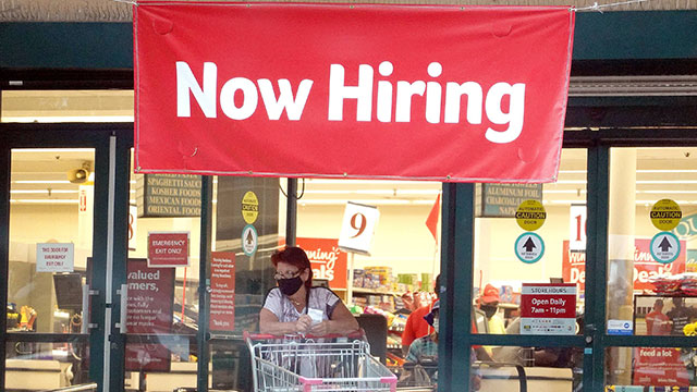 미 신규 실업수당 29만건…2주연속 30만건 미만