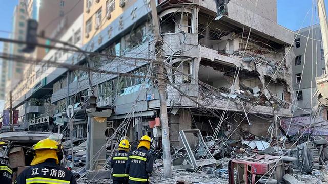 중국 선양서 가스폭발 사고…3명 사망·30여 명 부상