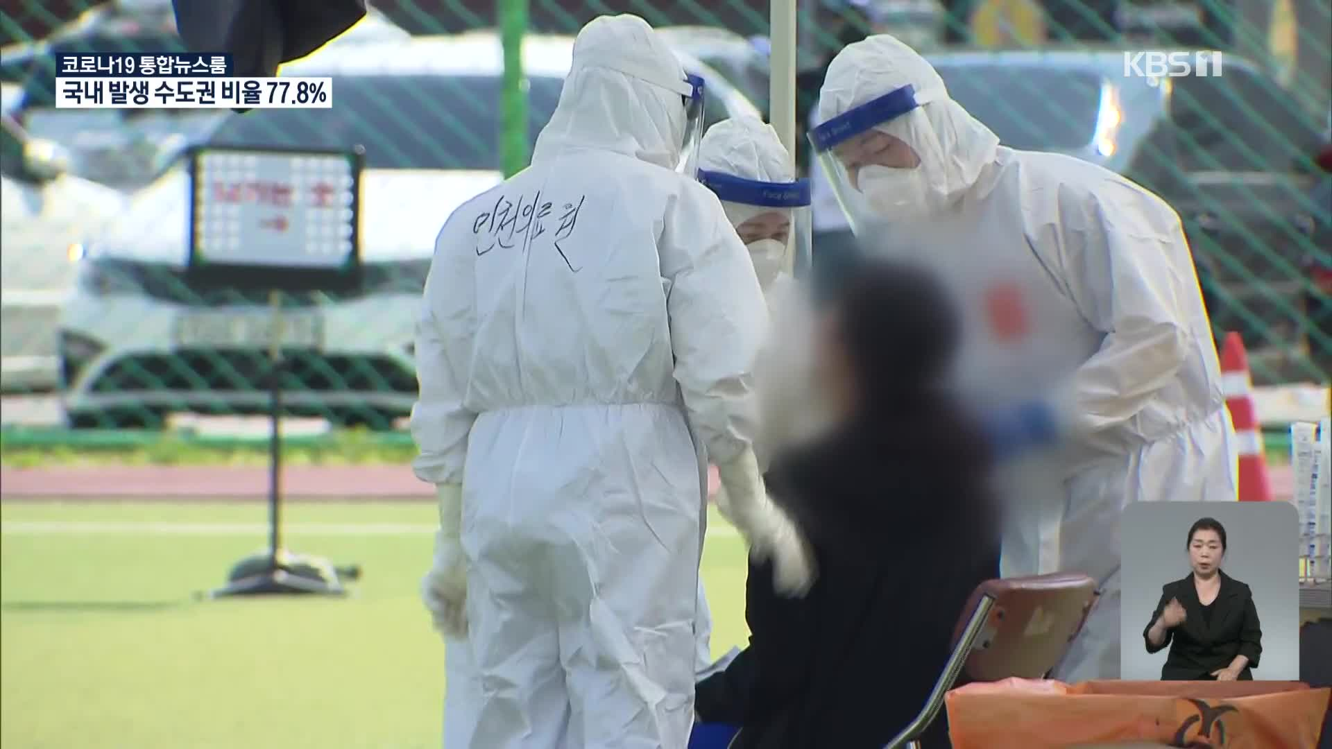 코로나19 주말 최다 확진…수도권 감염, 전국 확산 우려