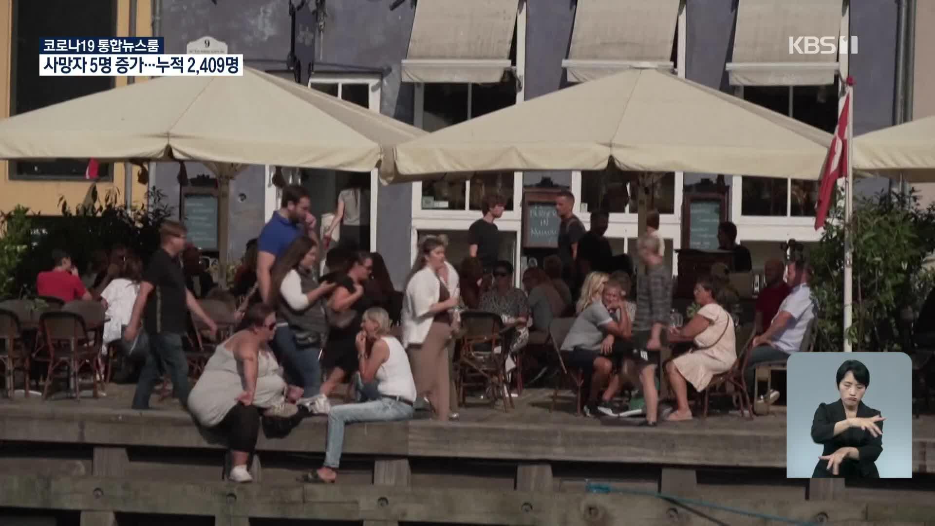 덴마크 코로나 규제 모두 해제…일상 복귀 환영