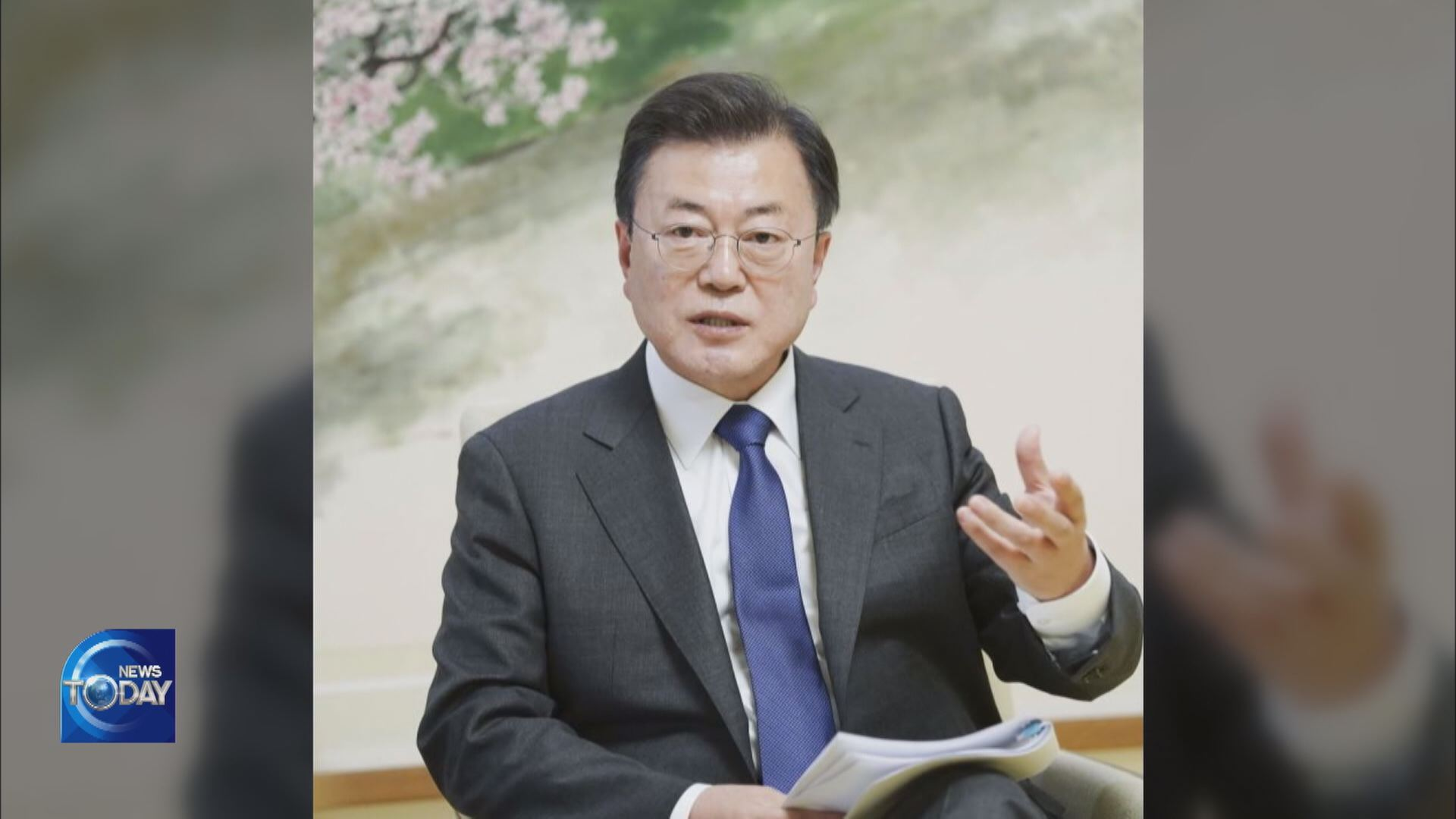 MOON URGES BIDEN TO ENGAGE WITH N. KOREA